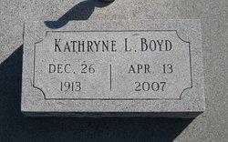 Kathryne L. <i>Wolfe</i> Boyd