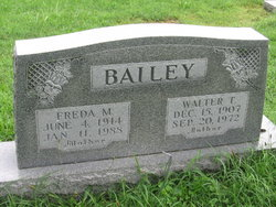 Freda M. <i>Harrison</i> Bailey