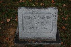 Audra <i>Guthrie</i> Champion
