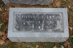 Kathryne G Boone
