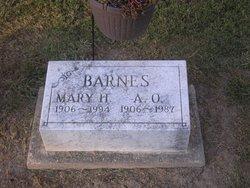 A O Barnes