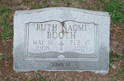 Ruth Naomi <i>Hudson</i> Booth