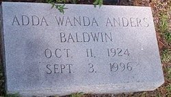 Adda Wanda <i>Anders</i> Baldwin