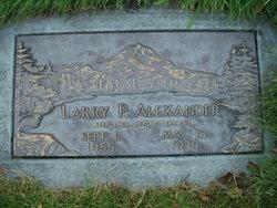 Larry P Alexander