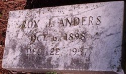 Roy Jacob Anders, Sr
