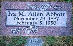 Iva Mildred <i>Allen</i> Abbott