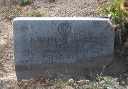 Joseph W Bailey