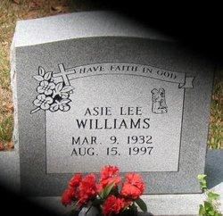 Asie Lee Williams