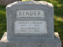 Herbert Lee Bender