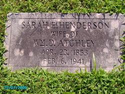Sarah E. Sallie <i>Henderson</i> Atchley