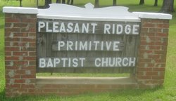 Pleasant Ridge Primitive Baptist Cemetery