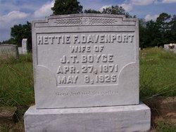 Hettie F <i>Davenport</i> Boyce