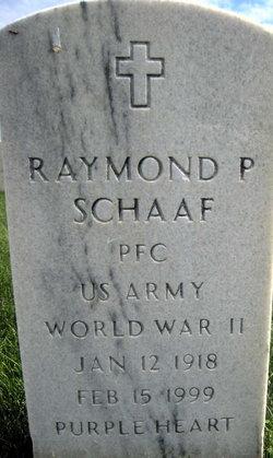 Raymond P Schaaf
