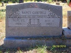 Nancy <i>Fixin</i> Campbell