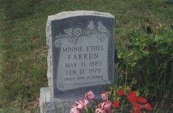 Minnie Ethel <i>Suttle</i> Farren