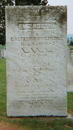 Elizabeth <i>Seacrer or Sierer</i> Romberger
