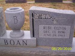 Ruby Olevia <i>Redus</i> Boan