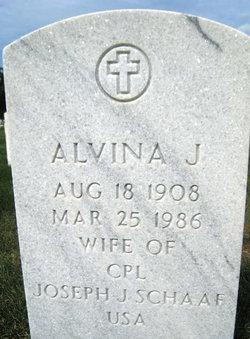 Alvina J Schaaf