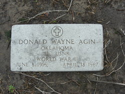 Donald Wayne Agin