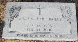 Winston Earl Bailey