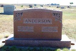 Martha Louisa Mattie <i>Pittman</i> Anderson