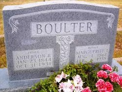 Anderson B Boulter