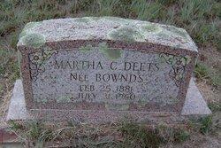 Martha C <i>Deets</i> Bownds