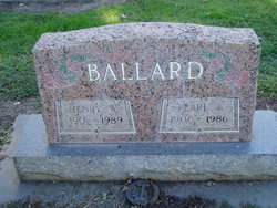 Pearl Emma <i>Jones</i> Ballard