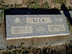 Harold Edward Beck