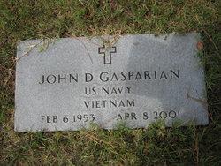 John D. Gasparian