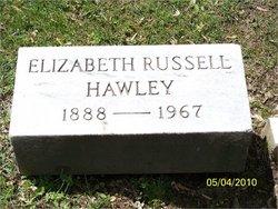 Elizabeth Russell <i>Watt</i> Hawley