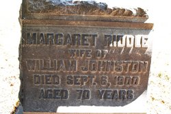 Margaret <i>Riddle</i> Johnston
