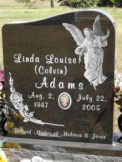 Linda Louise <i>Colvin</i> Adams
