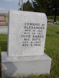 Edward M Alexander