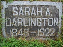 Sarah A Darlington