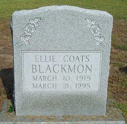 Ellie <i>Coats</i> Blackmon