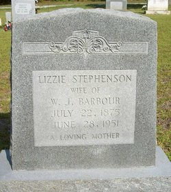 Lizzie <i>Stephenson</i> Barbour