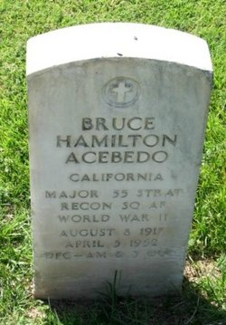 Maj Bruce Hamilton Acebedo