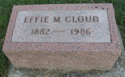Effie Mae <i>Kendall</i> Cloud
