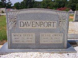 Bessie <i>Owens</i> Davenport