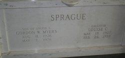Louise C. <i>Sprague</i> Pontius