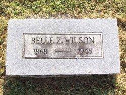 Belle Zora <i>Williams</i> Wilson