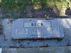 Ruth M Beck