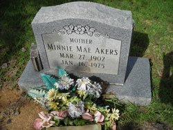 Minnie Mae Akers