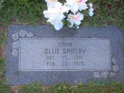 Ollie Rachel <i>Burke</i> Dansby