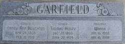 Nancy Ann <i>Houghton</i> Garfield