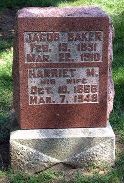Harriet M. <i>Buck</i> Baker