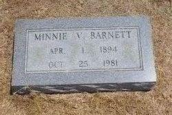 Minnie Vester <i>Bratcher</i> Barnett