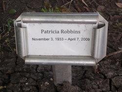 Patricia Grace Patsy <i>Connell</i> Robbins