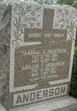Taaraal G Anderson